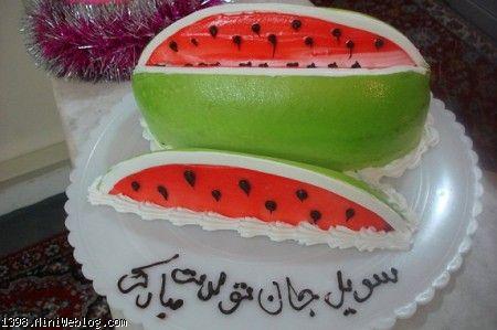 کیک هندونه