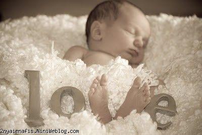 روشی برای عکس گرفتن از نوزاد!