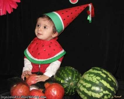 کاشتن  کتان برای سبزه شب عید کلاه کراوات مدل نمدی شب یلدا