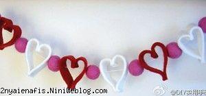 ریسه تزیینی با قلب این ریسه مناسب جشن تولد، تزیین اتاق کودک و روز عشق است.