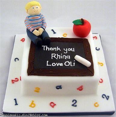 مدل کیک جشن حروف الفبا