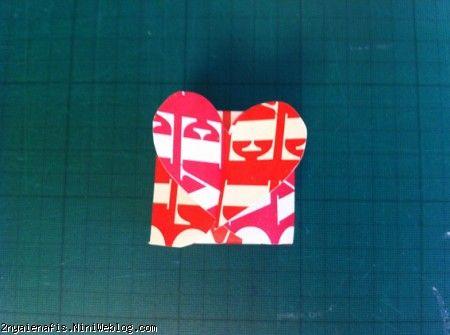 الگوی جعبه کادوهای قلبی شکل 1 + الگوی قابل پرینت