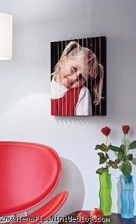 صوره مزدوجــة لغرفة جلوسك أصنعيها بنفسكــ چگونه یک تابلو جالب دو بعدی درست کنید آموزش تابلو عکس دوبعدی