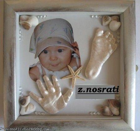 تابلوی اثر دست و پای کودک