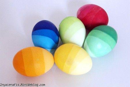 شیوه ی جالب رنگ کردن تخم مرغ عید نوروز92