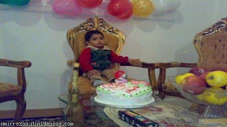 روز تولد امیر رضا دو سالگی کلیبر