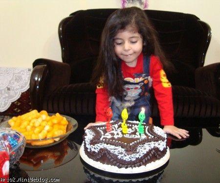 تولد 3 سالگی آریو