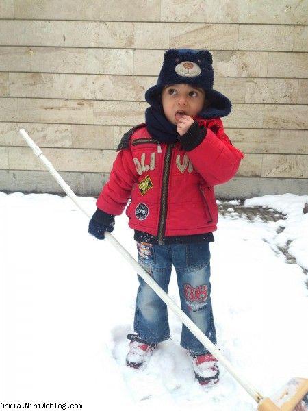 ارمیا و برفبازی
