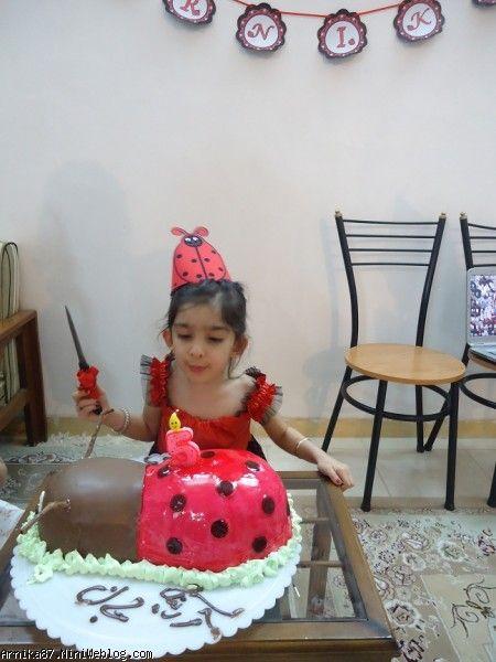 برش کیک