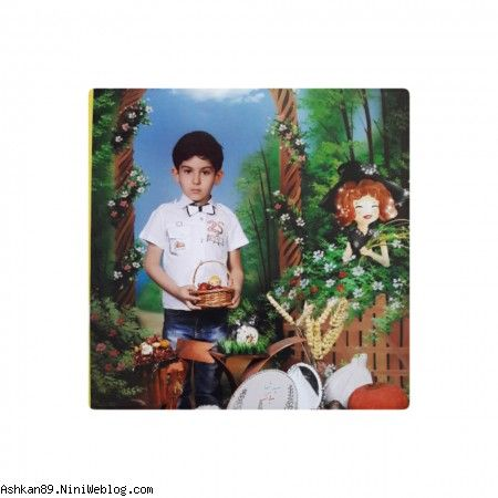 اشکان در جشن چهارشنبه سوری(اسفند 94)