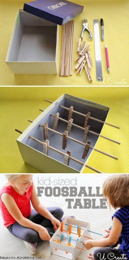 چگونه فوتبال دستی بسازیم