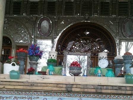 سفره هفت سین کاخ گلستان