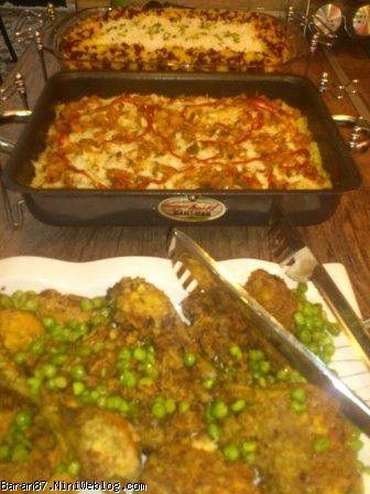 میز شام