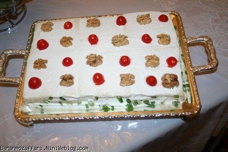 طرز درست ماکت کیک تولد کودک من | طرز درست کردن کیک مرغ برای جشن تولد