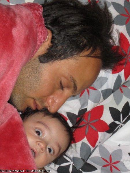 مهر پدری (صبح زود قبل از رفتن بابایی سر کار)