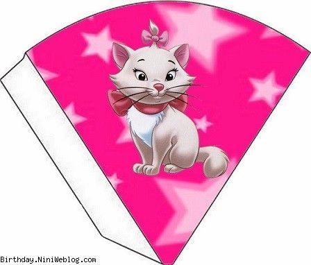 ست تزئینات تولد گربه های اشرافی