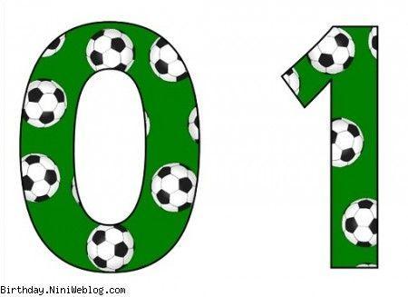 اعداد تولد فوتبال