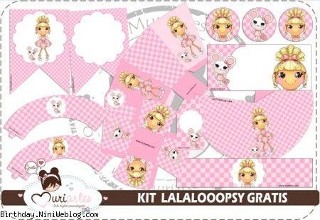 ست تزئینات تولد عروسک های لالالوپسی