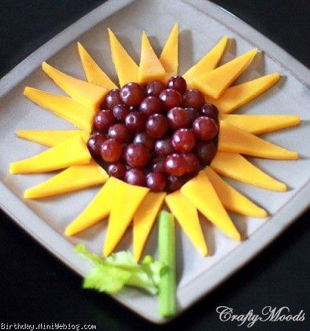 تزئینی زیبا به شکل گل آفتابگردان