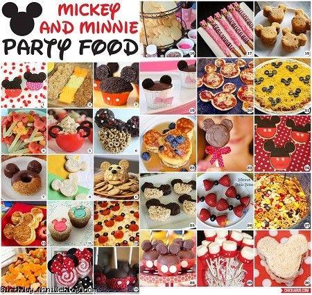 30 ایده شگفت انگیز از تزئین غذای میکی موس و مینی موس