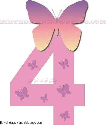 عدد 4 پروانه