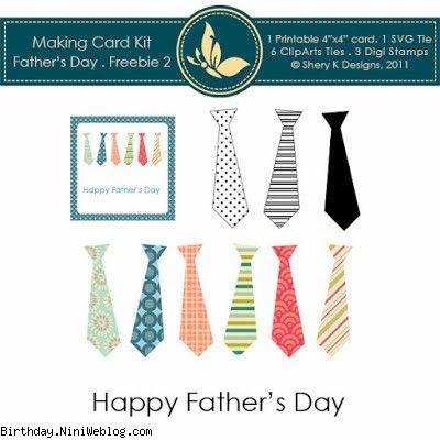 کارت تبریک کراواتی روز پدر+ کلیپ آرت کراوات