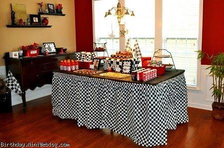 ایده هایی از تزئین میز تولد مک کوئینی