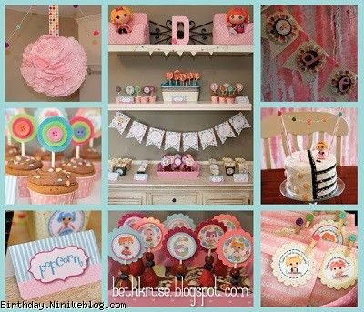 ایده ای از تزئینات تولد با تم لالالوپسی