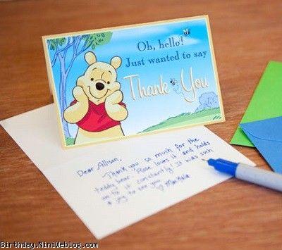 کارت تشکر وینی پوه