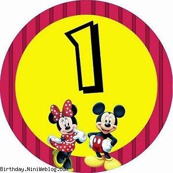 اعداد تولد میکی و مینی موس