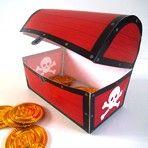جعبه گنج دزد دریایی