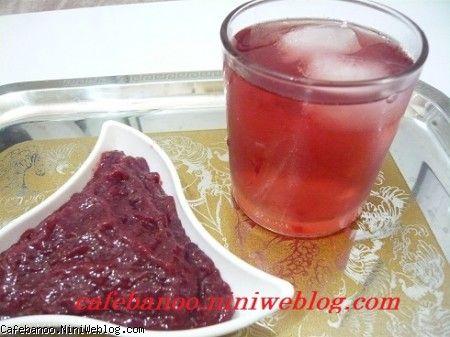 مارمالاد و شربت توت فرنگی