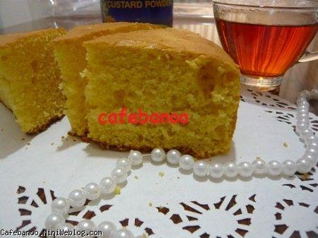 کیک کاسترد