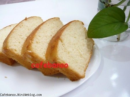 کیک ساده وانیلی