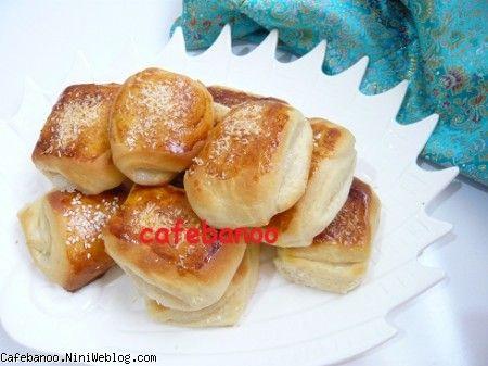 شیرینی گل محمدی (دانمارکی)