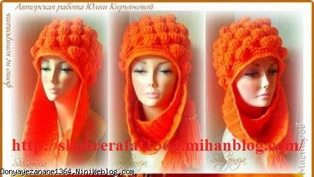 مدلهای جدید  شال و کلاه دخترانه