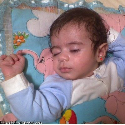 همه اتفاقات مربوط به هفته 38 بارداری دختر گلم مثل فرشته ها خوابیده