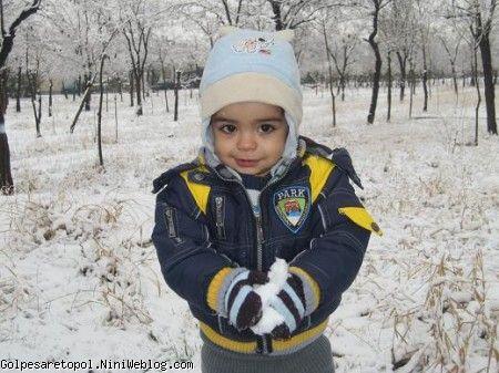اينم يه گوله برف براي همه ي دوست جونايي كه برفو دوست دارن