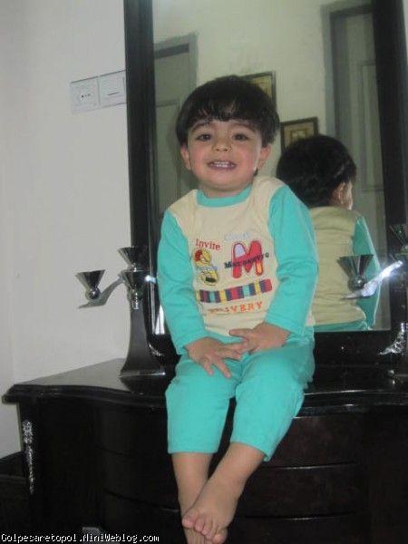 مهبد بعد از يك حمام گرم شبانه 4-11-91