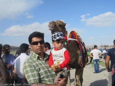 مهبد و بابا مهدي در پاسارگاد - 6 فروردين 92