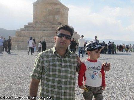 مهبد و بابا مهدي در پاسارگاد