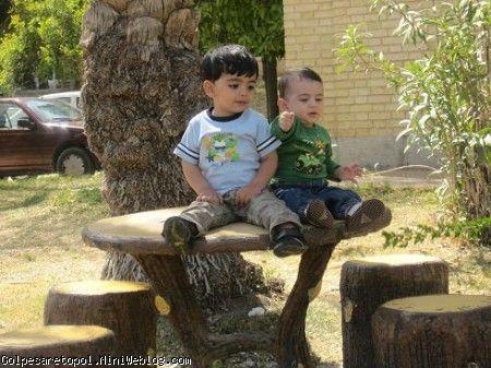 مهبد و كسري در محوطه دانشگاه شيراز