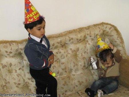 كسري و مهبد در روز تولد كسري