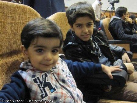 مهبد و مهرزاد در جشن برگزار شده به مناسبت 22 بهمن