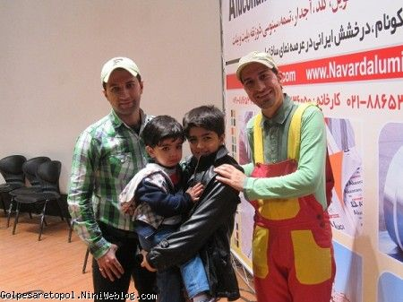 مهرزاد و مهبد به همراهي عمو سامان و همكارش
