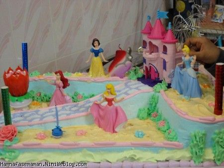 کیک تولد گلم