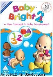 تقویت هوش نوزاد و دی وی دی BABY BRIGHT
