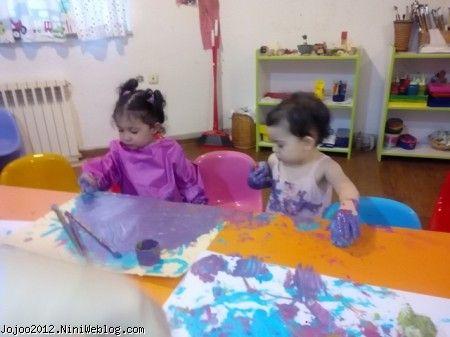 هنر و خلاقیت مادر و کودک
