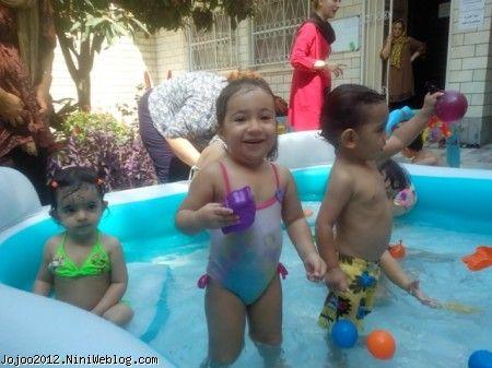 آب بازی ویانا کوچولو