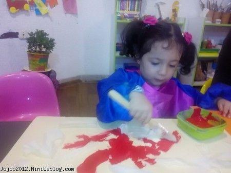 پرورش خلاقیت کودک کوچولو ویانا